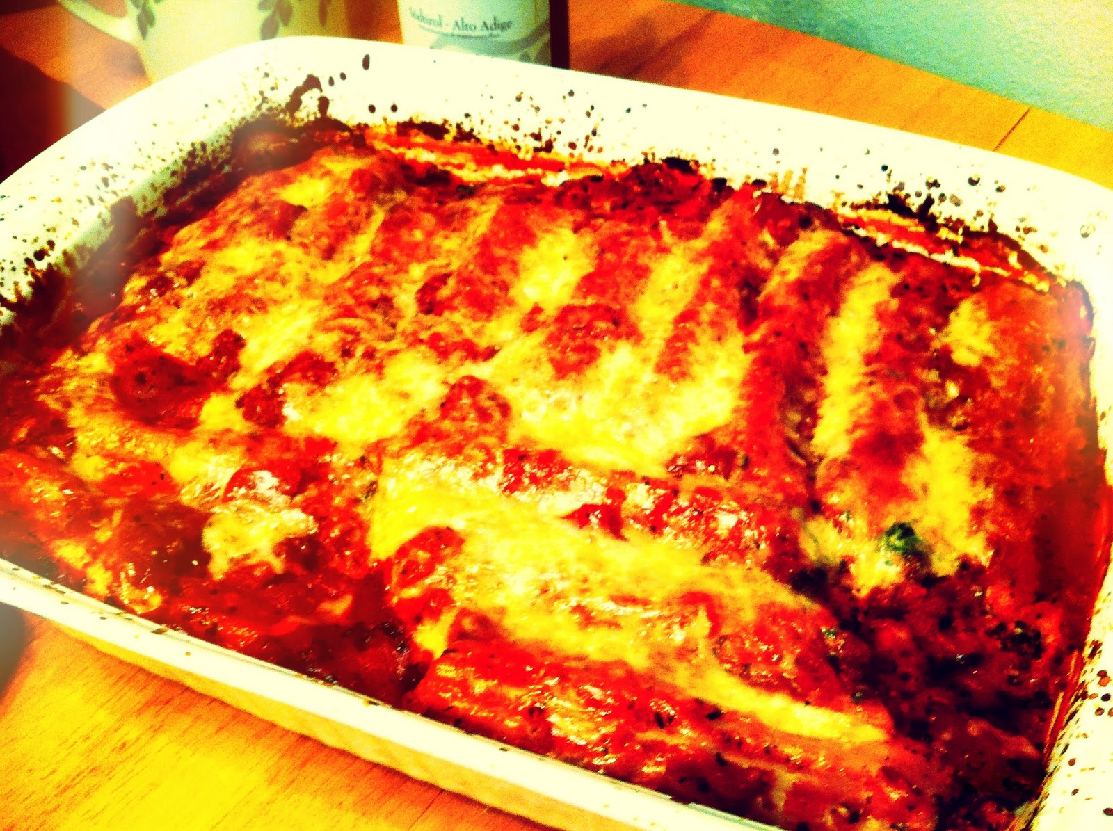 how to cook frozen manicotti