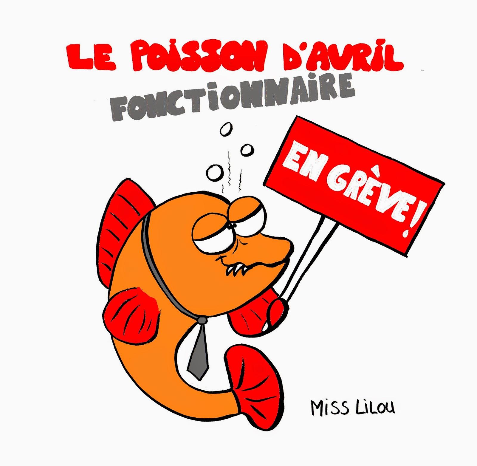 Acturatons le poisson d 39 avril fonctionnaire - Poisson rouge rigolo ...
