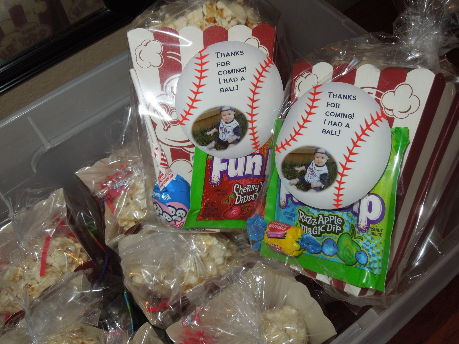 Party Favors Popcorn Fun Dip Twizzlers Double Bubble Gum And A Blow Pop All My Candy Concession Memories Of Being At The Ballpark Watching Brother