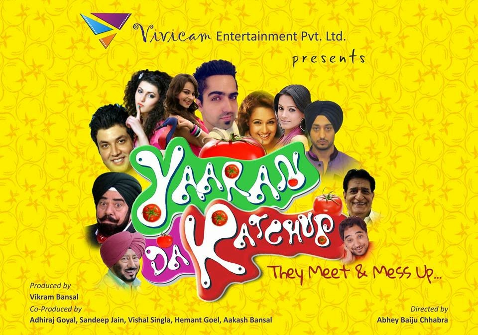 Yaaran Da Katchup Title Song Lyrics