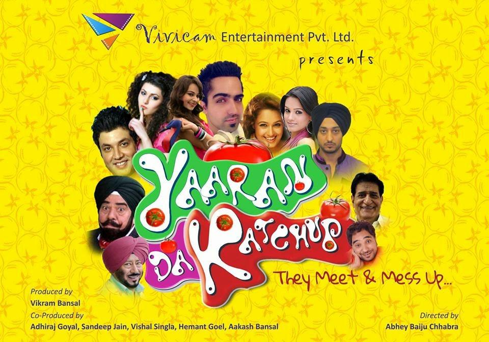 Yaaran Da Katchup Title Song Lyrics