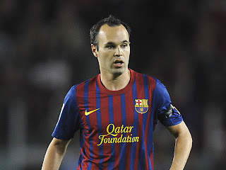 Iniesta Wallpaper 2012 on Andres Iniesta Barcelona Wallpaper 2012   Wallpapers  Photos  Images