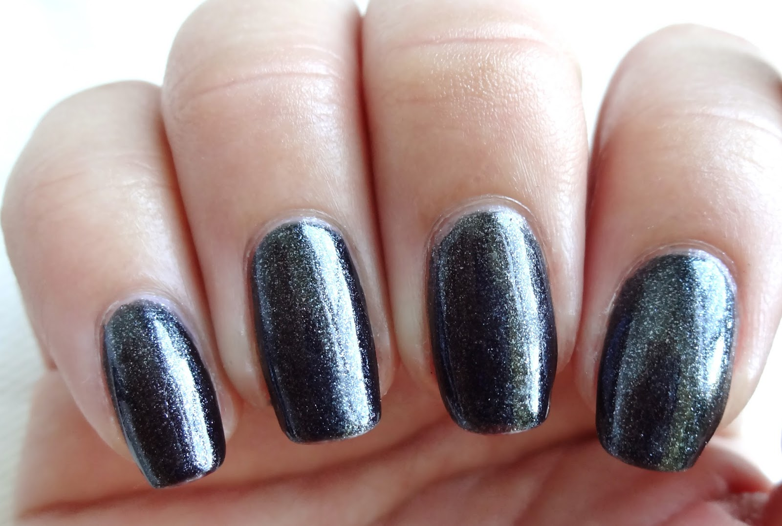 Glittery Black Base Color