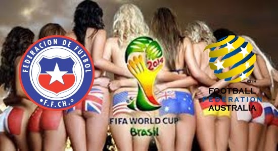 Prediksi Skor PIALA DUNIA 2014 BRASIL Terjitu Cili vs Australia jadwal 14 Juni 2014
