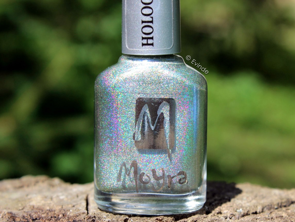 moyra luna holographic nail polish