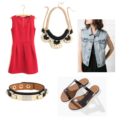 1 Item, 3 Ways: Canada Day Edition with Olive+Piper, MANGO and Zara