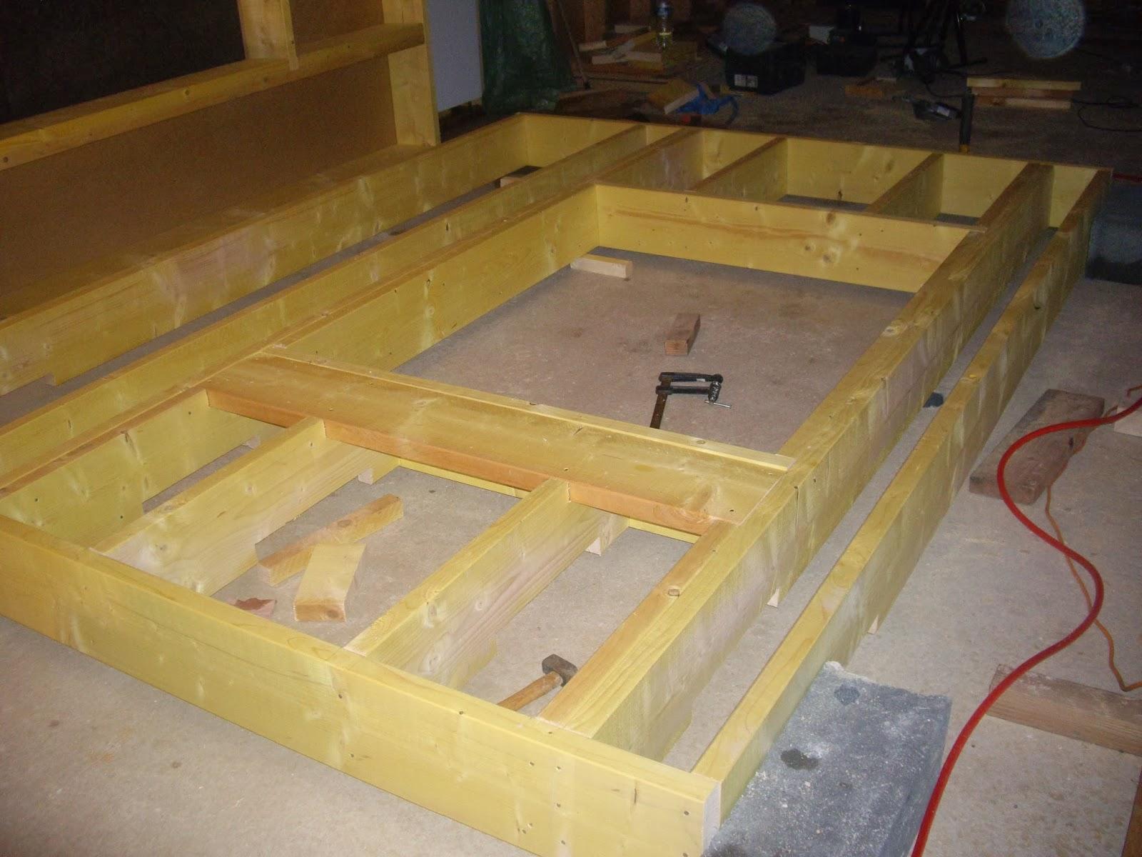 Notre auto construction passive maison ossature bois m o b ossature boi - Construire mezzanine garage ...