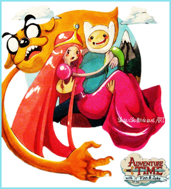 Adventure Time por ShugarSkull