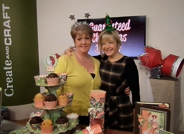 Leonie & Clare at Create and Craft TV