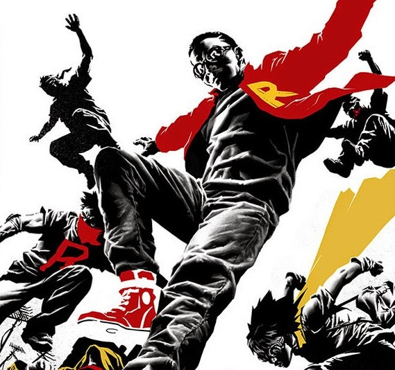 We Are Robin cover by Rob Haynes and Khary Randolph
