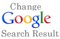 How to change Google Search Result