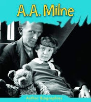bookcover of A. A. MILNE  by Charlotte Guillain