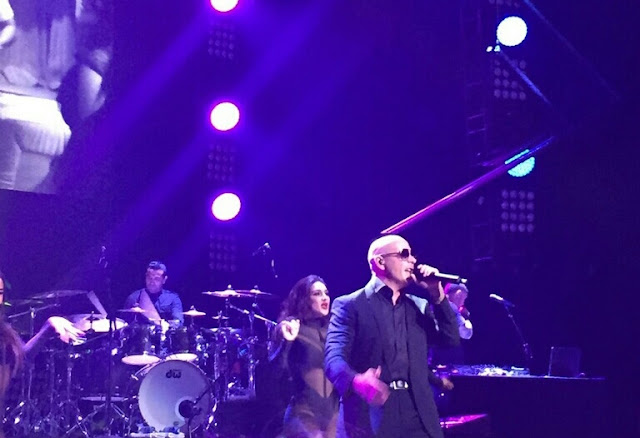 Pitbull at the PlentiTogether Live Show