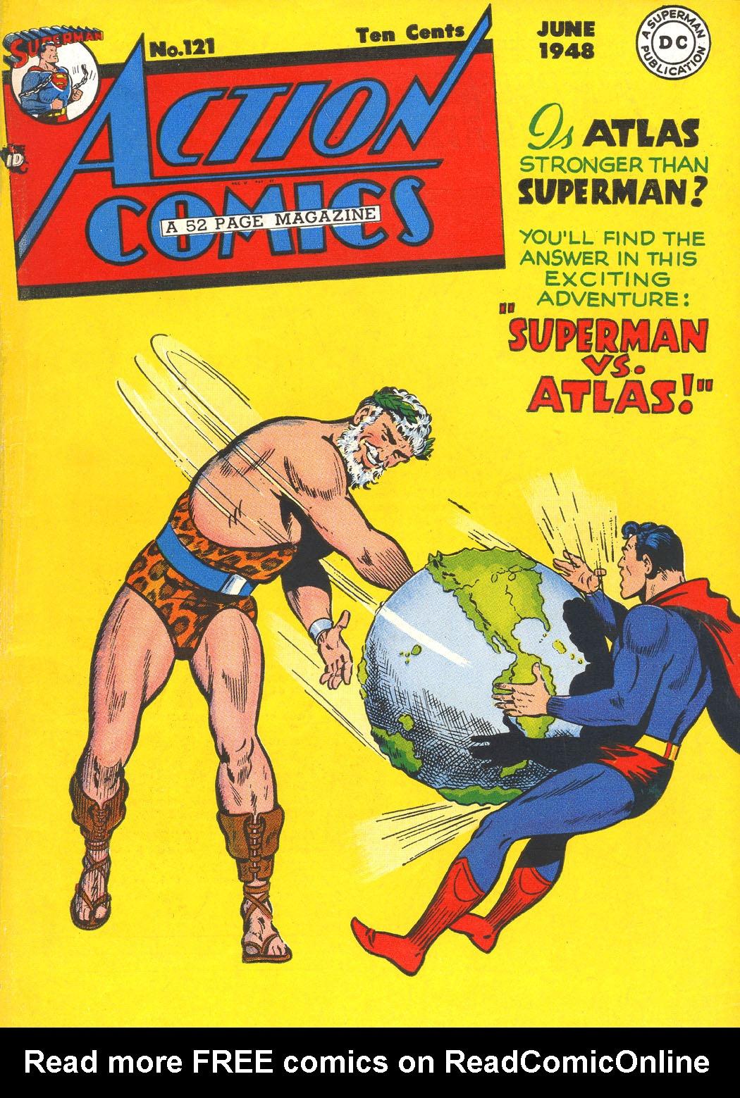 Action Comics (1938) 121 Page 1