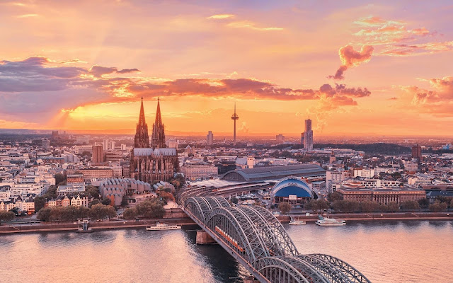 Cologne Germany City View