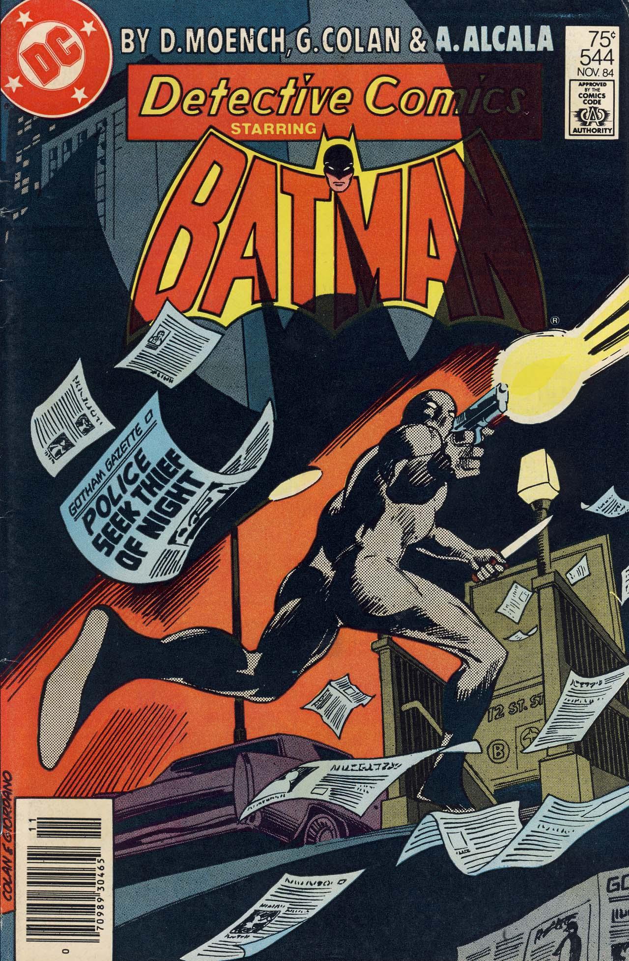 Detective Comics (1937) 544 Page 1