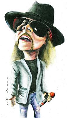 Caricatura Axl 2012