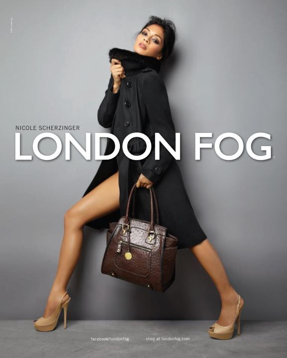 Fashionable Hairstyles Nicole Scherzinger on London Fog 03