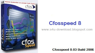 cFosSpeed 8.03 Build 2006 Incl NEW-BoxTR