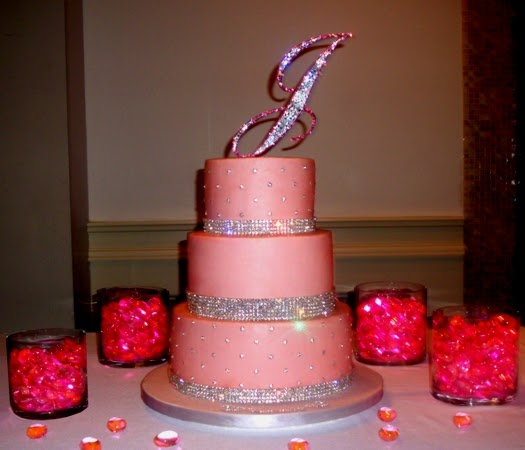 Wedding Cake Bling Beautiful Cakes That Sparkle Shine: Confectionary Designs: Bling Bling Weekend