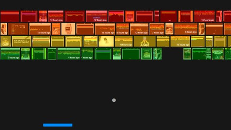 play Atari breakout with Google Images