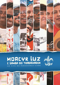 capa Download   Moacyr Luz e Samba do Trabalhador   Ao Vivo no Renascença Clube   DVDRip AVI + RMVB (2013)
