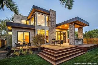 desain model rumah minimalis 2 lantai
