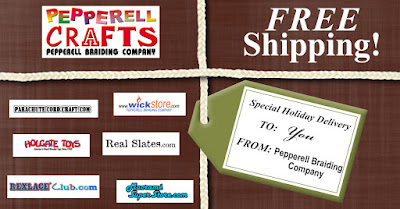 Free Shipping on Pepperell Crafts Sites through Nov. 30th, 2015