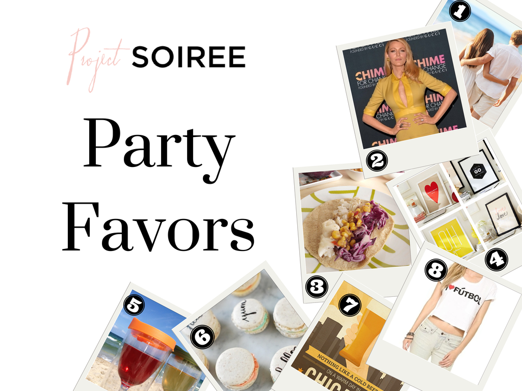 Party Favors - Links - Project Soiree
