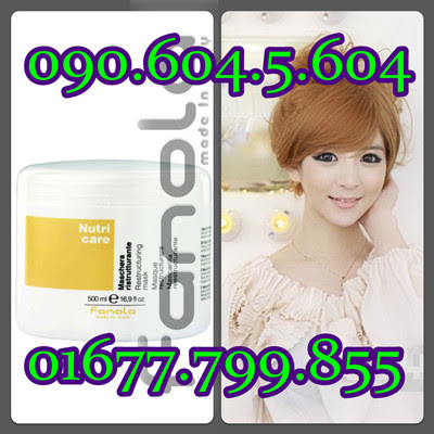 Hấp dầu Fanola phục hồi tóc hư tổn, khô xơ Fanola NutriCare 500ml