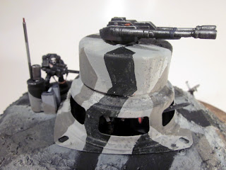 Completed Bunker for Warhammer 40k - Canon detail