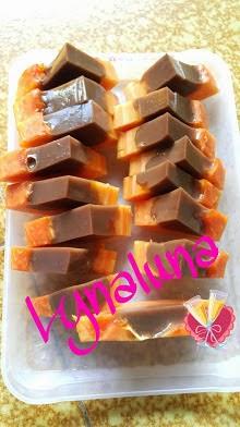 Resep Puding Coklat Pepaya ala Bunda Lily Andayanti
