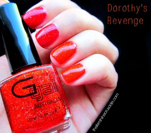 Glitter Gal Dorothy's Revenge - swatch
