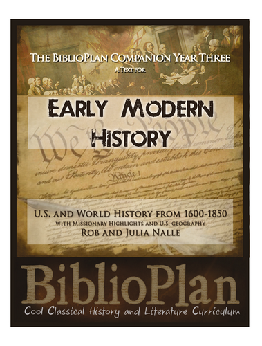 Biblioplan each companion interweaves gods word and church history with the overall narrative of history helping students understand the christian themes and fandeluxe Choice Image