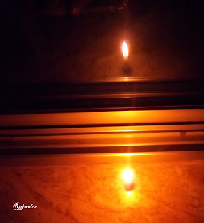 Candlelight Reflection