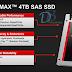 SanDisk lança o primeiro SSD de 4 Terabyte.