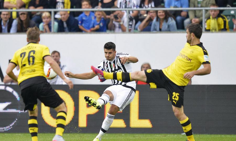 Hasil Pertandingan Dortmund 2-0 Juventus 26/7/2015