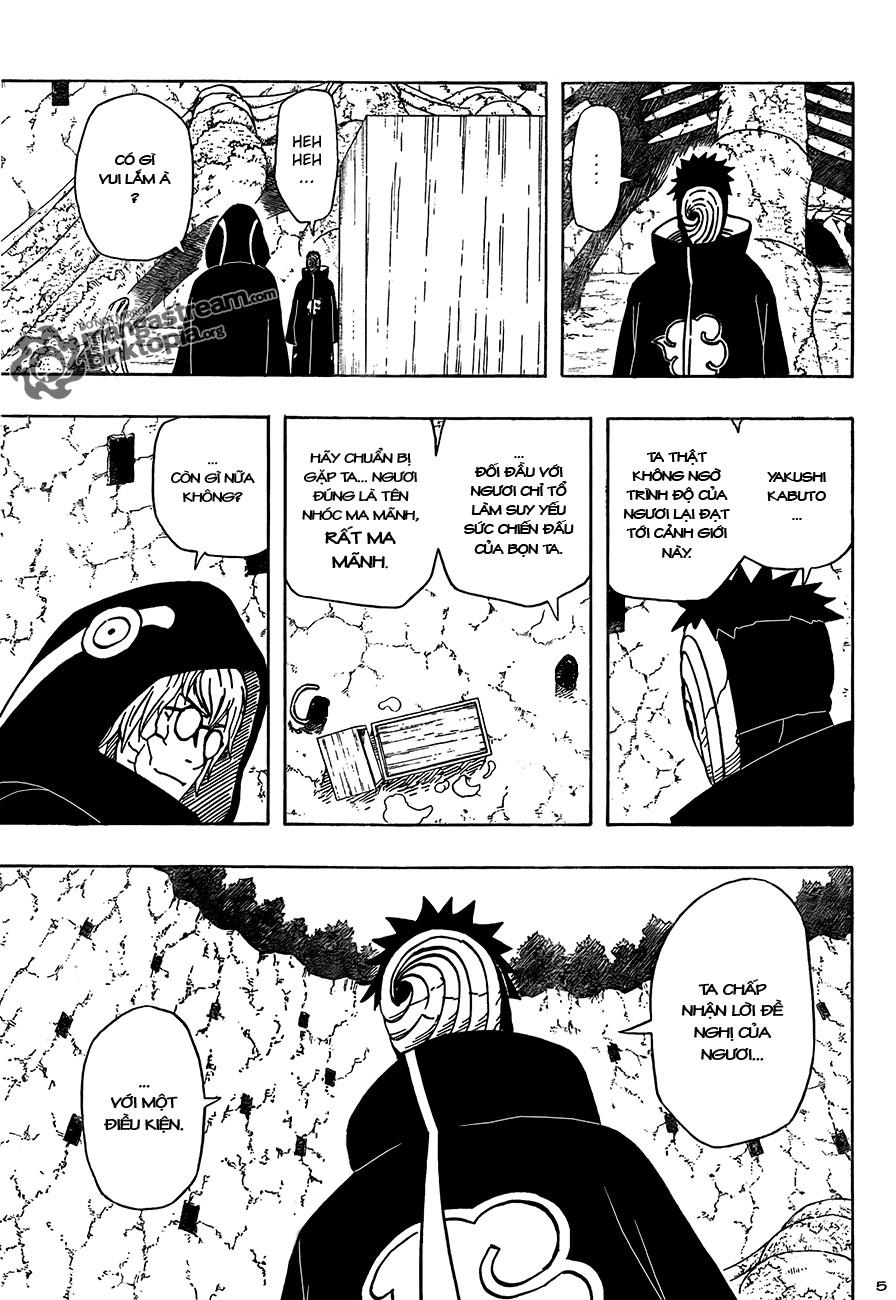Naruto chap 490 Trang 5 - Mangak.info