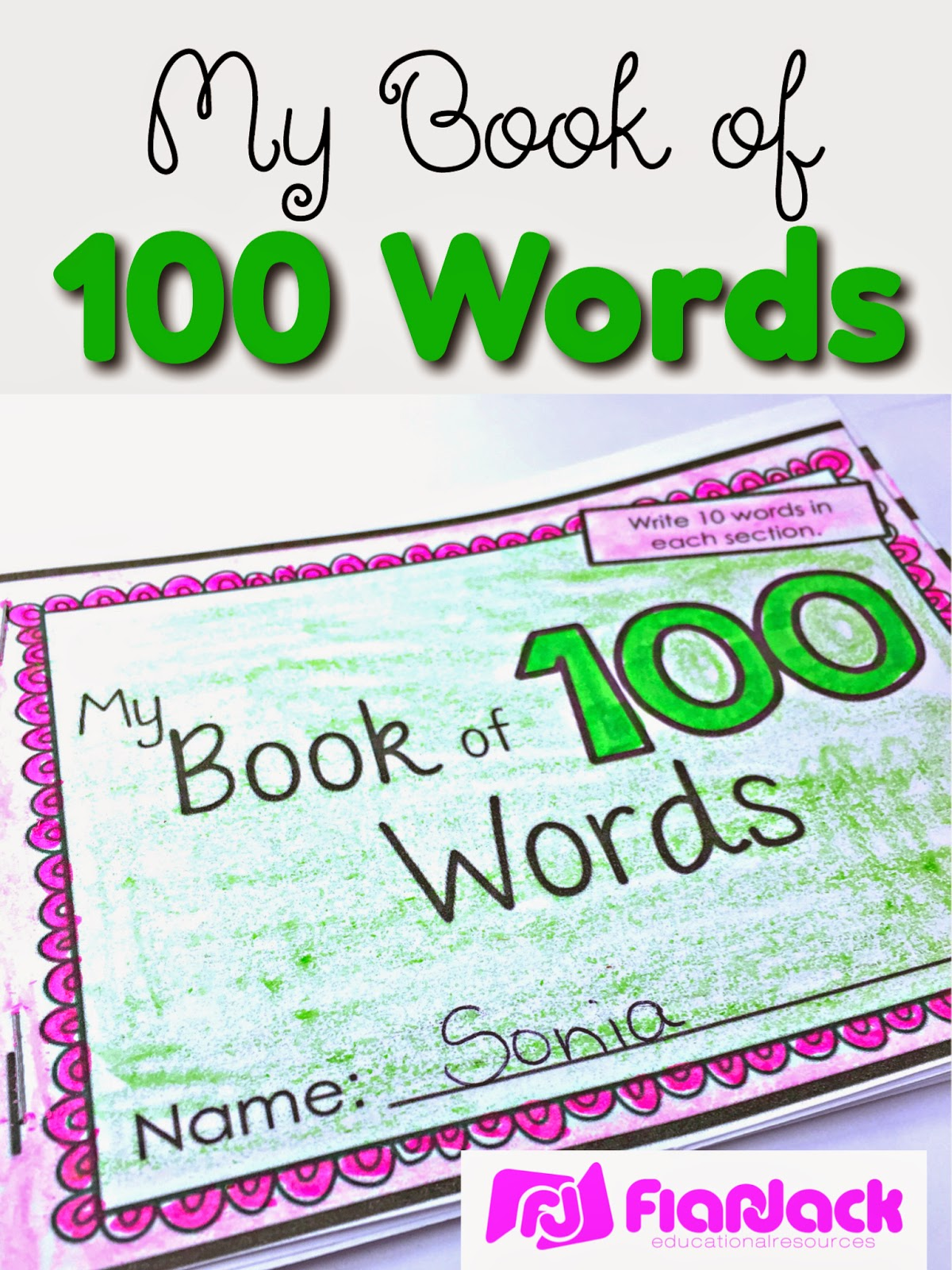 My Book of 100 Words
