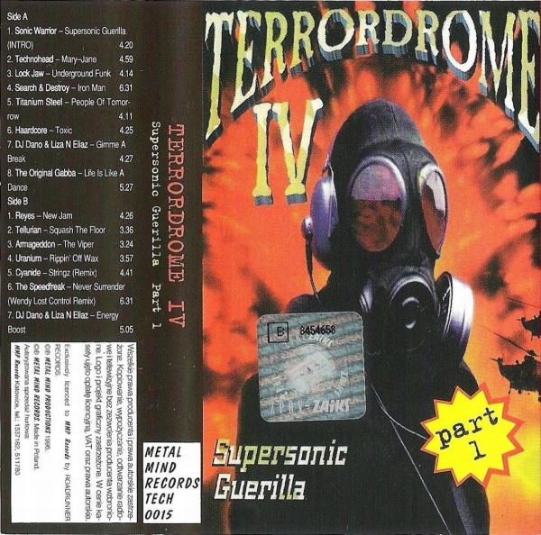 Az egyik hardcore kazettám borítója