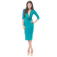 Rochie Aimee turquoise (MissGrey)