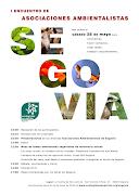 I ENCUENTRO DE ASOCIACIONES AMBIENTALISTAS DE SEGOVIA