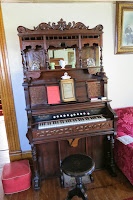 ornate pump organ