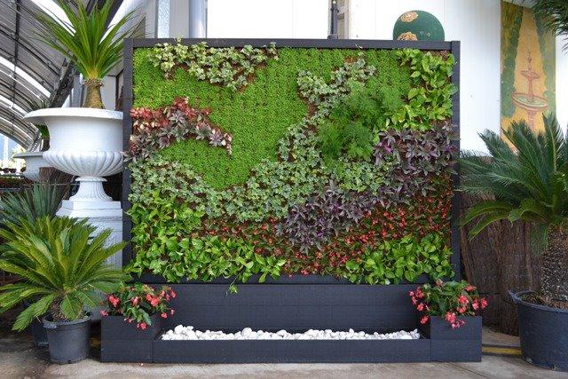 Jardin vertical for Como se hace un jardin vertical