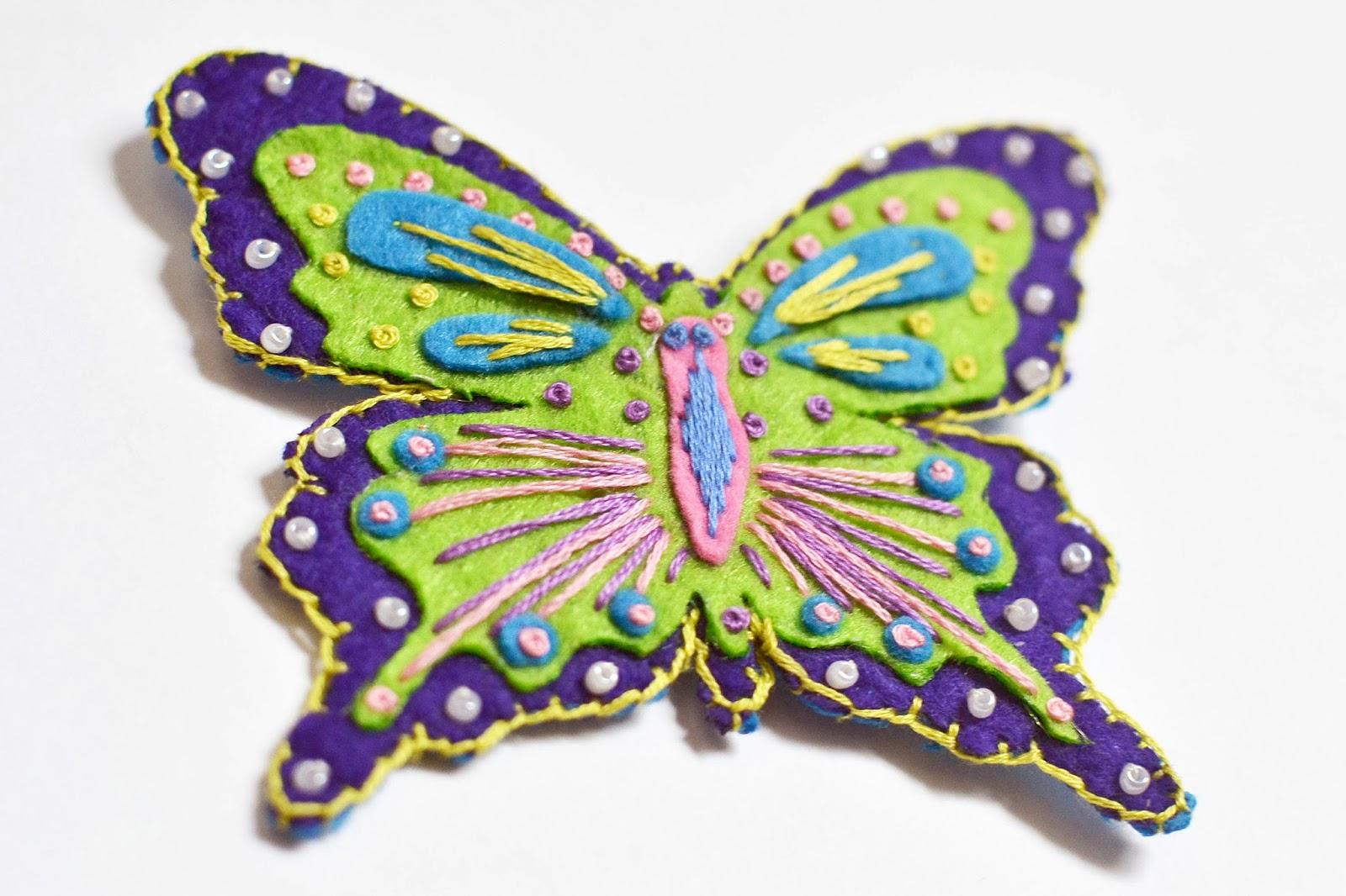 Бабочка из флиса своими руками фото 352
