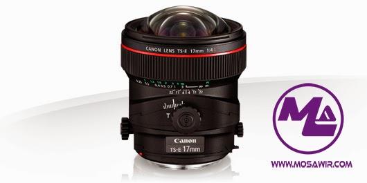 عدسة كانون: TS-E 17mm f/4L
