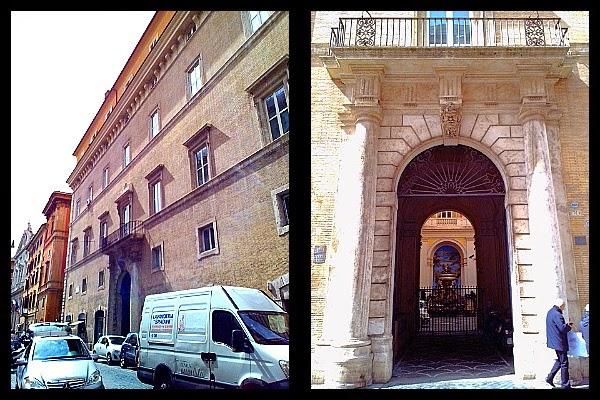 Palazzo del Collegio Germanico Ungarico w Rzymie