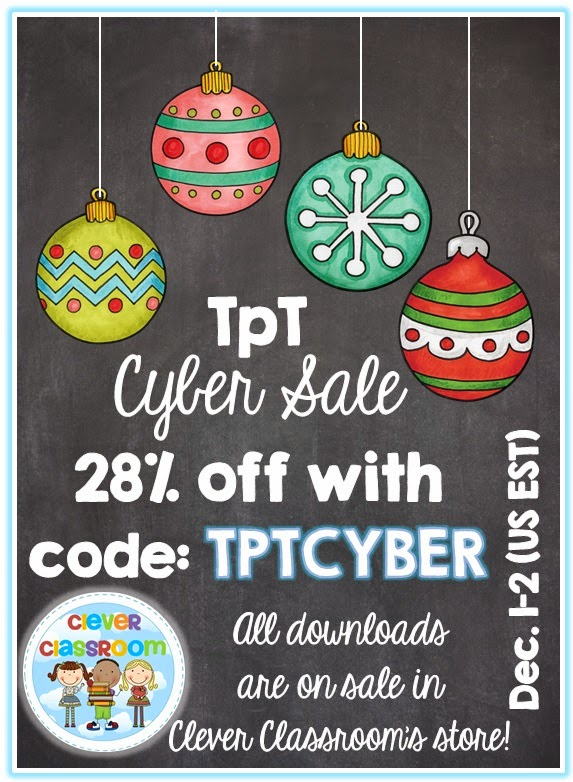 TpT Cyber Sale and a book inspired activity
