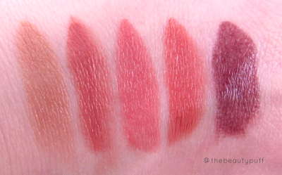 gallany cosmetics lipstick swatches - the beauty puff