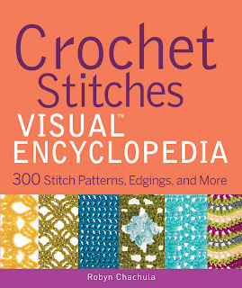Book Review: Crochet Stitches VISUAL Encyclopedia by Robyn Chachula